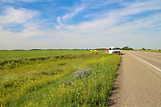 Highway 14, between Biggar and Saskatoon