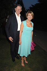MR & MRS BILL CASH MP at a party to celebrate the 100th issue of Waitrose's Food Illustrated magazine held at The Physic Garden, Chelsea, London on 13th September 2007.<br /><br />NON EXCLUSIVE - WORLD RIGHTS