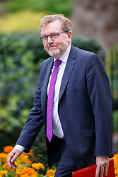 © Licensed to London News Pictures. 29/03/2017. London, UK. Scottish Secretary DAVID MUNDELL attends a cabinet meeting in Downing Street, London on Wednesday, 29 March 2017 as Prime Minister Theresa May triggers article 50 and starts Britain's departure from the European Union. Photo credit: Tolga Akmen/LNP