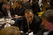 TONY CHAMBERS, EDITOR OF WALLPAPER. Wallpaper Design Awards. Old Post Sorting Office. New Oxford St. London. 9 January 2008. -DO NOT ARCHIVE-© Copyright Photograph by Dafydd Jones. 248 Clapham Rd. London SW9 0PZ. Tel 0207 820 0771. www.dafjones.com.
