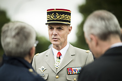 French Army Chief of Staff General Francois Lecointre attends a ceremony commemorating General Charles De Gaulle's June 1940 appeal for French resistance against Nazi Germany, at the Mont Valerien National Memorial in Suresnes on the outskirts of Paris on June 18, 2018. Photo by Eliot Blondet/ABACAPRESS.COM