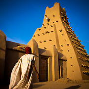 Sankoré mosque.Built in 15th-16th centuries . Timbuktu city. Timbuktu region. Mali.