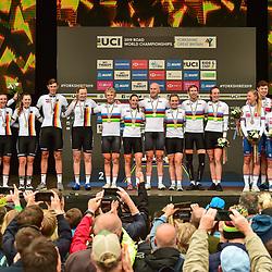 22-09-2019: WK wielrennen: Team Relay: Yorkshire
