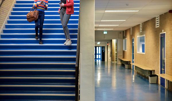 Nederland, Doetinchem, 20-11-2018Krimp en gevolgen voor het voortgezet onderwijs. Middelbare school Ludgercollege.Foto: Flip Franssen