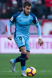 December 16, 2018 - Seville, Andalucia, Spain - Portu of Girona CF during the LaLiga match between Sevilla FC and Girona at Estadio Ramón Sánchez Pizjuán on December 16, 2018 in Seville, Spain  (Credit Image: © Javier MontañO/Pacific Press via ZUMA Wire)