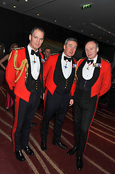 Left to right, Left to right, MAJ.GEN.GEORGE NORTON, GENERAL SIR NICHOLAS HOUGHTON Vice Chief of the Defence Staff and Lt.Gen.Gerry Berragan CB, he is the Adjutant General.  at the Soldiering On Awards 2013 held at the Park Plaza Hotel, Westminster Bridge, London SE1 on 23rd March 2013.