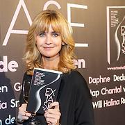 NLD/Amsterdam/20151102 - Boekpresentatie Extase, Daphne Deckers met het boek