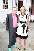 Andrew Lloyd Webber & Madeleine Gurdon, ITV Summer Reception, Chepstow Villas, London UK, 17 July 2013, (Photo by Brett Cove)