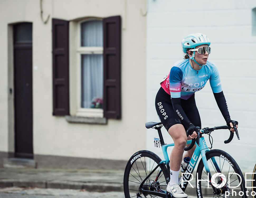 Elizabeth Bennett (GBR/Drops Le Col)<br /> <br /> 13th Women's Omloop Het Nieuwsblad 2021 <br /> 1 Day Race: Gent – Ninove 124km<br /> <br /> ©Rhode.Photo