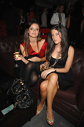 Left to right, LADY NATASHA RUFUS-ISAACS and     at a party to celebrate the publication of Nain Attallah's book'Fulfilment & Betrayal' held at The Bluebird, King's Road, London on 1st May 2007.<br /><br />NON EXCLUSIVE - WORLD RIGHTS