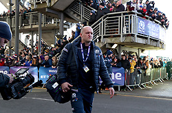 Scotland coach Gregor Townsend arrives for the NatWest 6 Nations match at BT Murrayfield, Edinburgh.