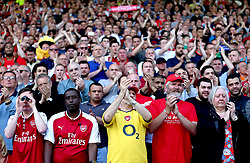 A minutes applause takes place on the 22nd minute of the match to honour outgoing manager Arsene Wenger