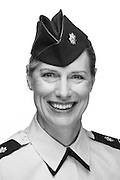 """Air Force Reserve Major Dana Fisk presently serves as a mobile hospital nurse, and previously worked as an aeromedical flight nurse. While not nursing in uniform, Fisk spends her days at Seattle's Harbourview Medical Center as a burn trauma and pediatric nurse. Since joining the service in 1988, Fisk has traveled the world and deployed to the Middle East during the Gulf War.<br /> <br /> """"Those with an engaged and enthusiastic attitude, coupled with the willingness to do hard work, it's an exciting and rewarding job,"""" Major Fisk told the 446th Airlift Wing Public Affairs. """"The art of kindness, compassion and empathy are important aspects of nursing. Anyone can learn a skill or procedure, but not everyone can be a kind caring nurse."""" <br /> <br /> Seattle, WA"""