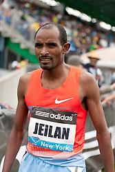 adidas Grand Prix Diamond League professional track & field meet: mens 5000 meters, Ibrahim JEILAN, Ethiopia