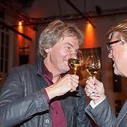 NLD/Amsterdam/20151202 - Opening DWDD Pop up restaurant en kookboek presentatie Koken met Kranenborg, Matthijs van Nieuwkerk en Robert Kranenborg