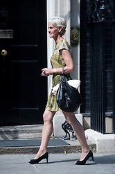 Andy Murray meets Cameron At Downing Street.<br /> Judy Murray, mother of Britain's tennis player Andy Murray, arrives at 10 Downing Street ahead of a reception with his son to celebrate his Wimbledon win.<br /> Wimbledon Champion Andy Murray of Great Britain and Prime Minister David Cameron outside Downing Street,<br /> London, United Kingdom<br /> Monday, 8th July 2013<br /> Picture by Piero Cruciatti / i-Images