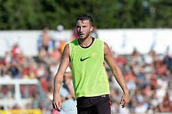 July 19, 2018 - Rome, Italy - Bryan Cristante during training session open to the fans of A.S. Roma,  pre-season retreat at Stadio Tre Fontane on july 19, 2018 in Rome, Italy. (Credit Image: © Silvia Lore/NurPhoto via ZUMA Press)