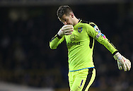 Burnley's Tom Heaton looks on dejected during the Premier League match at White Hart Lane Stadium, London. Picture date December 18th, 2016 Pic David Klein/Sportimage