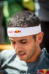 25.05.2014, Skiflugschanze Kulm, Kulm, AUT, Red Bull 400, Full Distance Männer, im Bild Sieger Ahmet Arslan // during the Red Bull 400 at the Skiflying Hill, Kulm, Austria on 2014/05/25, EXPA Pictures © 2014, PhotoCredit: EXPA/ M.Kuhnke
