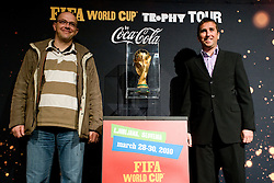 at VIP reception of FIFA World Cup Trophy Tour by Coca-Cola, on March 29, 2010, in BTC City, Ljubljana, Slovenia.  (Photo by Vid Ponikvar / Sportida)