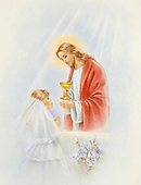 Communion and Baptism Drawings