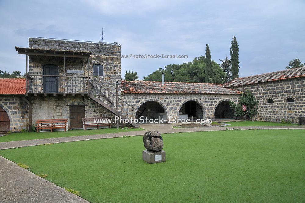 Israel, Upper Galilee, The Tel Hai Courtyard historic landmark founded 1920