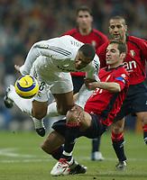 Fotball<br /> Spania 2005/2006<br /> Foto: Miguelez/Digitalsport<br /> NORWAY ONLY<br /> <br /> 18.12.2005<br /> Real Madrid v Osasuna<br /> <br /> Baptista