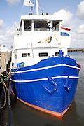 Seal trip boat Oudeschild Harbour, Texel, Netherlands