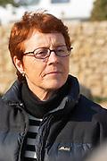 Mireille Brun owner of Olive oil mill Moulin du Calanquet de Saint St Remy de Provence, Bouches du Rhone, France