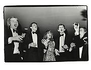 William Hague, Monday club dinner. Worcester college, Oxford. 1980