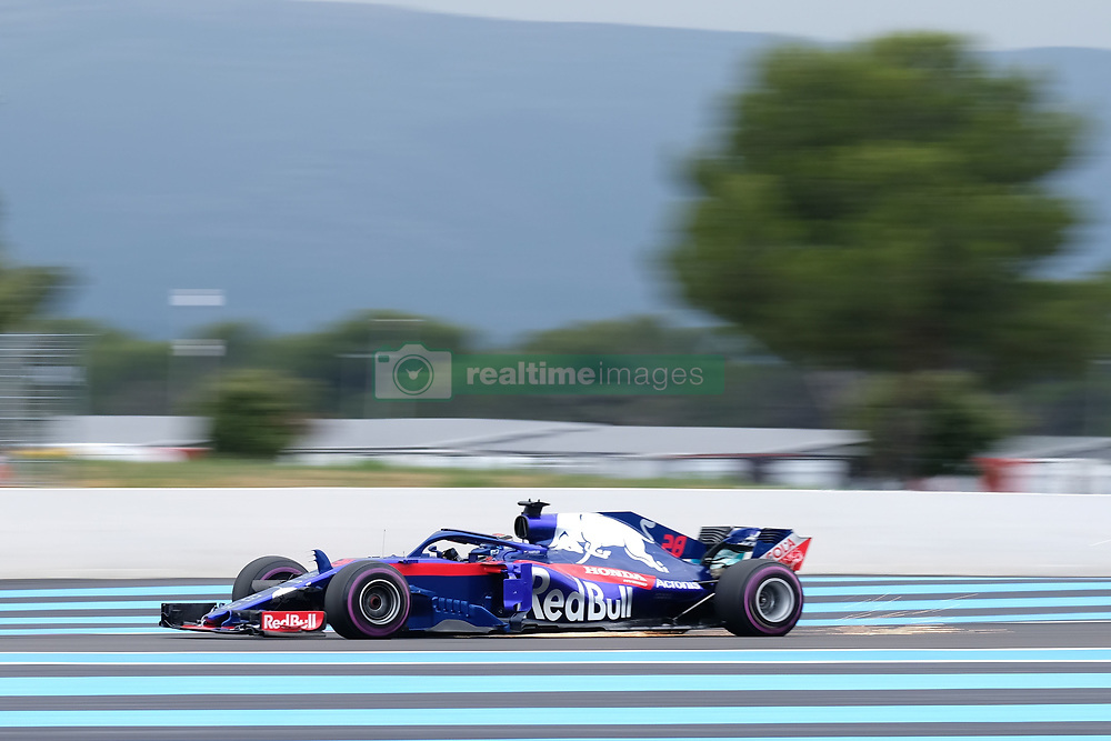 June 23, 2018 - Le Castellet, Var, France - Toro Rosso Driver BRENDON HARTLEY (GBR) in action during the Formula one French Grand Prix at the Paul Ricard circuit at Le Castellet - France. (Credit Image: © Pierre Stevenin via ZUMA Wire)