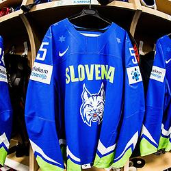 20170511: FRA, Ice Hockey - IIHF World Championship 2017, Dressing room of Team Slovenia