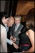 NEFER SUVIO; DYLAN JONES; NICK RHODES; TRACEY EMIN, Royal Academy of Arts Summer Exhibition 2014. Piccadilly. London. 4 June 2014.
