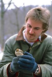 John Cox Holding Sparrow