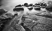 "Last light, Gerroa shoreline<br /> 62.2cm x 37.6cm (24.5"" x 14.8"")<br /> Edition of 5"