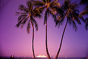 Cruise ship, Kailua-Kona, Island of Hawaii<br />