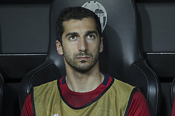 May 9, 2019 - Valencia, Valencia, Spain - Mkhitaryan of Arsenal in action during UEFA Europa League football match, between Valencia and Arsenal, May 09th, in Mestalla stadium in Valencia, Spain. (Credit Image: © AFP7 via ZUMA Wire)