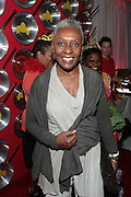 """September 18, 2012- Harlem, New York: Vogue Italia Editor-at-Large/Agent Bethann Hardison at Sylvia's Restaurant 50th Anniversary Golden Jubliee Gala celebrating the life and legacy of the late Sylvia Woods and held at Sylvia's Restaurant on September 18, 2012 in the Village of Harlem, USA. The 50th Anniversary Gala salutes Sylvia's as """"the world's kitchen"""" and celebrates a legend of the historic Harlem community. With an invite-only fundraising event for 500+ guests, the night kicked-off with a lavish cocktail hour and live performances from Sylvia's A-list guests, many of whom have made Sylvia's a home away from home for the past 5 decades.(Terrence Jennings)"""