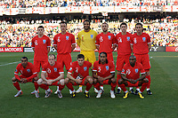 England Team Group World Cup 2010<br /> Germany V England (4-1) 27/06/10 Round Of 16<br /> FIFA World Cup 2010<br /> Photo Robin Parker Fotosports International