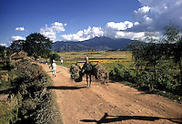 Rural scene in Nepal.1969. Photographed by Terry Fincher