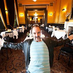 Rick Shapiro at the Edinburgh Fringe.