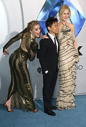 LOS ANGELES, CA - DECEMBER 12: Amber Heard, James Wan and Nicole Kidman at the world premiere of Aquaman at The TCL Chinese Theater in Los Angeles, California on December 12, 2018. 12 Dec 2018 Pictured: Amber Heard, James Wan and Nicole Kidman. Photo credit: FS/MPI/Capital Pictures / MEGA TheMegaAgency.com +1 888 505 6342