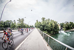 Hermann Pernsteiner (AUT) of Amplatz - BMC in Tacen during Stage 2 of 24th Tour of Slovenia 2017 / Tour de Slovenie from Ljubljana to Ljubljana (169,9 km) cycling race on June 16, 2017 in Slovenia. Photo by Vid Ponikvar / Sportida