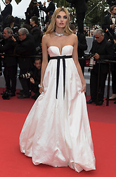 Premiere of 'La Belle Epoche' during the 72nd Cannes Film Festival at Palais des Festivals in Cannes, France, on 20 May 2019. 20 May 2019 Pictured: Alina Baikova attends the premiere of 'La Belle Epoche' during the 72nd Cannes Film Festival at Palais des Festivals in Cannes, France, on 20 May 2019. Photo: Vinnie Levine. Photo credit: 2019 Hubert Bösl / MEGA TheMegaAgency.com +1 888 505 6342