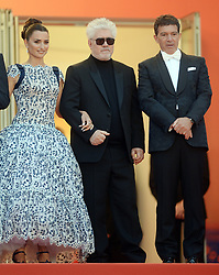 Pain and Glory premiere at Cannes Film Festival. 17 May 2019 Pictured: Penelope Cruz, Pedro Almodovar, Antonio Banderas. Photo credit: MEGA TheMegaAgency.com +1 888 505 6342