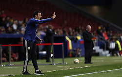 March 22, 2019 - Madrid, Madrid, Spain - Argentina's coach Lionel Scaloni seen in action during the International Friendly match between Argentina and Venezuela at the wanda metropolitano stadium in Madrid. (Credit Image: © Manu Reino/SOPA Images via ZUMA Wire)