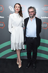 Keeley Hawes and Stephen Poliakoff pictured during the BFI and Radio Times Television Festival, at the BFI South Bank in London. Picture date: Friday April 12, 2019. Photo credit should read: Matt Crossick/Empics