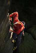 Alex Honnold Soloing The Knock, E4, Burbage South, Peak District