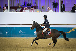 Smolders Harrie (NED) - Exquis Powerfee<br /> CHI Al Shaqab - Doha 2013<br /> © Dirk Caremans