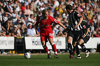 Photo: Pete Lorence.<br />Notts County v Swindon Town. Coca Cola League 2. 23/09/2006.<br /> Swindon's Royce Brownlie charges down the wing.